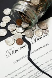 Rebuilding finances after divorce