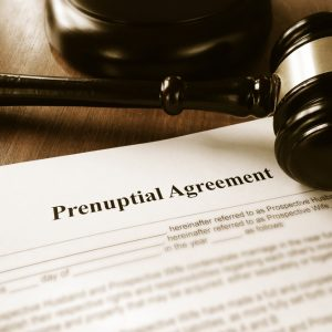 Prenuptial, Premarital Agreement