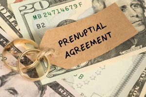 Prenuptial and finances